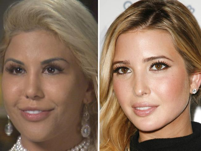 33-year-old Tiffany Taylor has spend $78,000 to look like Ivanka Trump.