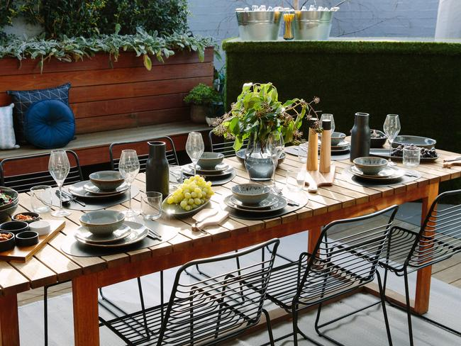 Every Part Of This Table Setting Can Be Bought From Kmart With Pieces Starting At
