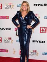Angela Bishop arrives at the 2014 Logie Awards at Crown Palladium on April 27, 2014 in Melbourne, Australia. (Photo by Robert Prezioso/Getty Images)