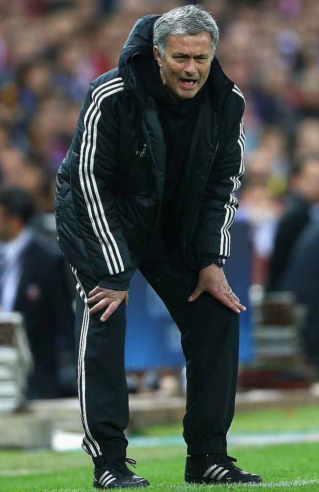 The Special One prepares to produce another trophy.