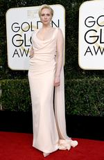 Gwendoline Christie attends the 74th Annual Golden Globe Awards at The Beverly Hilton Hotel on January 8, 2017 in Beverly Hills, California. Picture: Getty