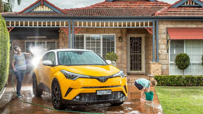 Keep it clean: Regular washing can enhance your car's trade-in price. Picture: Thomas Wielecki