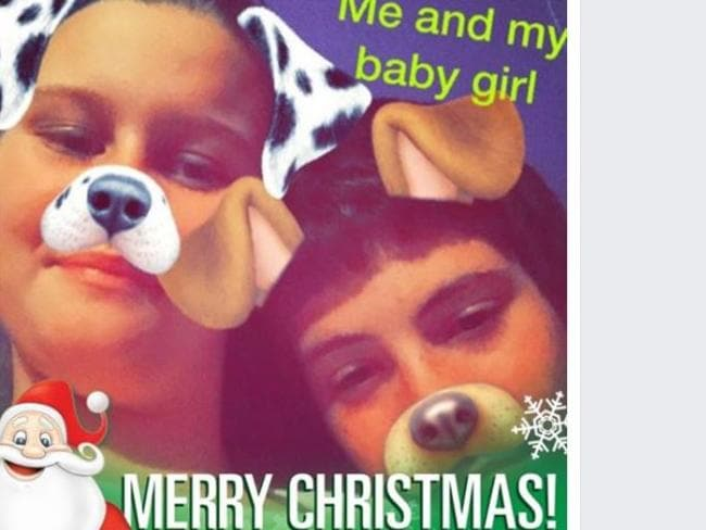 Love story of two young teens Jayden and Jenifer. Picture: Facebook