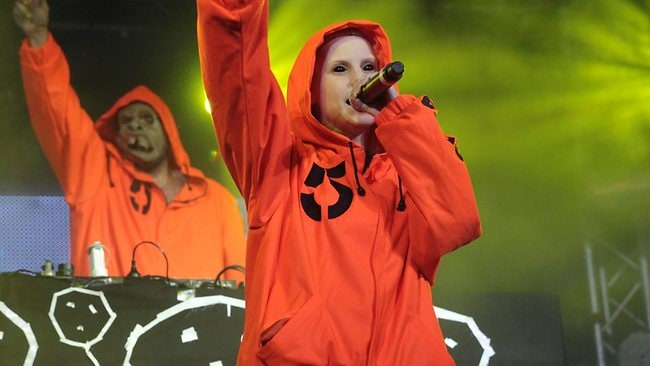 Future Music 2012. Die Antwoord perform. Picture: Bohdan Warchomij.
