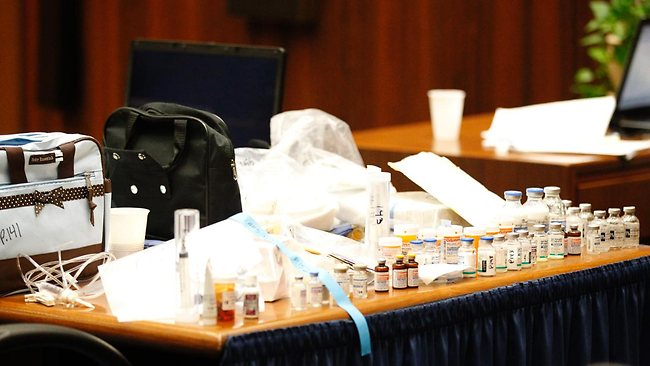 Michael jackson 39 s doll drugs revealed in conrad murray for Table 66 jury