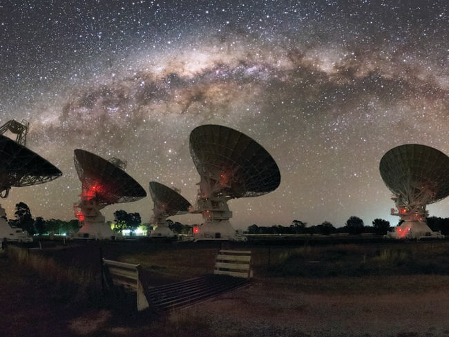 The afterglow of fast radio bursts. Picture: Alex Cherney.
