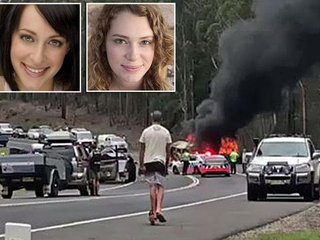 Jessica Falkholt remains critical after the crash which killed her parents and her sister Annabelle. Picture: Seven News Sydney