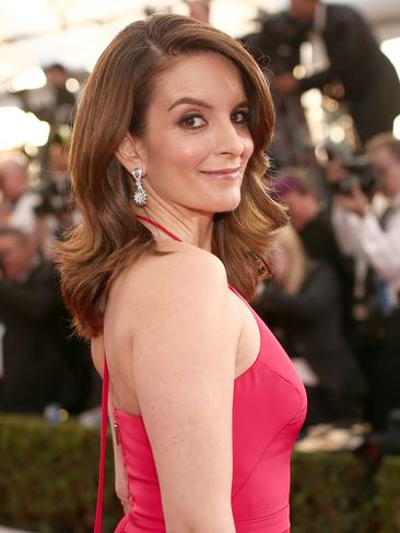 Unbreakable Kimmy Schmidt creator Tina Fey on the red carpet of The 22nd Annual Screen Actors Guild Awards. Picture: Christopher Polk/Getty Images