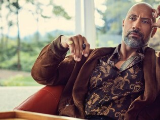 Good morning to The Rock and only to The Rock. Photo: Carter Smith/InStyle Magazine