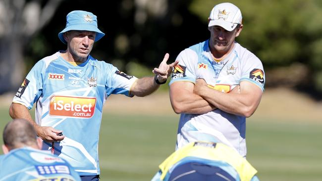 Titans assistant coach Neil Henry is in the running for the Knights head coach job.