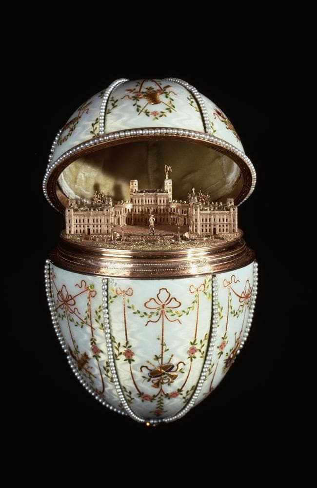 The Gatchina Palace egg is part of the Walter's Art Museum collection. Picture: Wikimedia Commons.