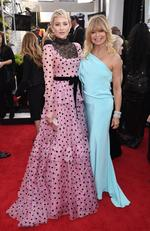 Actors Kate Hudson (L) and Goldie Hawn attend the 24th Annual Screen Actors Guild Awards at The Shrine Auditorium on January 21, 2018 in Los Angeles, California. Picture: Dimitrios Kambouris/Getty Images for Turner Image