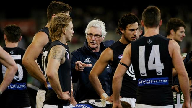 Brereton says Blues players are still listening to Malthouse. Picture: Colleen Petch
