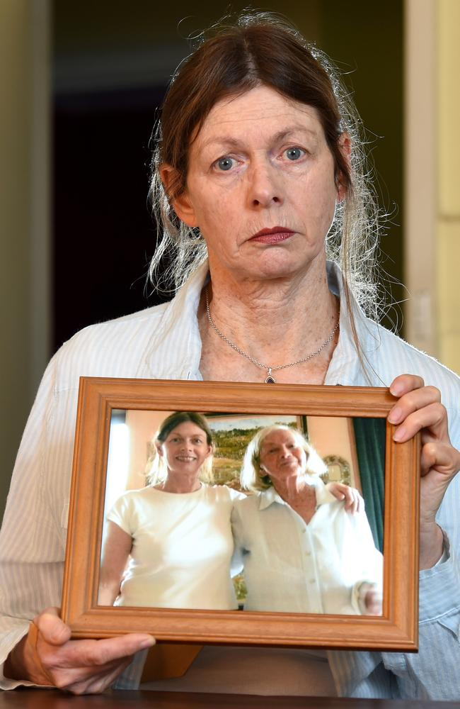 Jane Sinclair was ripped off when booking her mother's cremation. Picture: Kylie Else