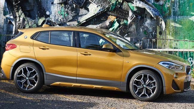 X2 xDrive 20d: Arriving in Australia later in the year at about $60K.