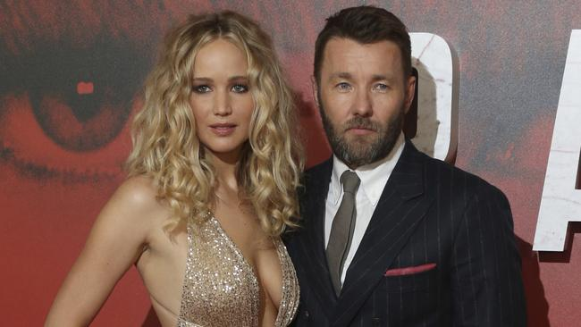 Jennifer Lawrence plays a Russian spy in Red Sparrow.