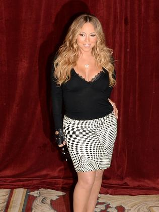 Mariah Carey, the queen of the celebrity feud. Picture: Getty Images