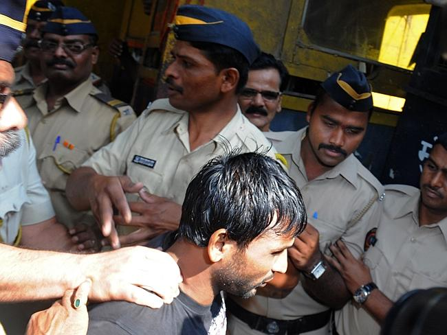 Offender ... double gang-rape convict Siraj Rehmat Khan has been jailed for life in the case of a photographer gang-raped while on assignment with a male colleague. Picture: Indranil Mukherjee