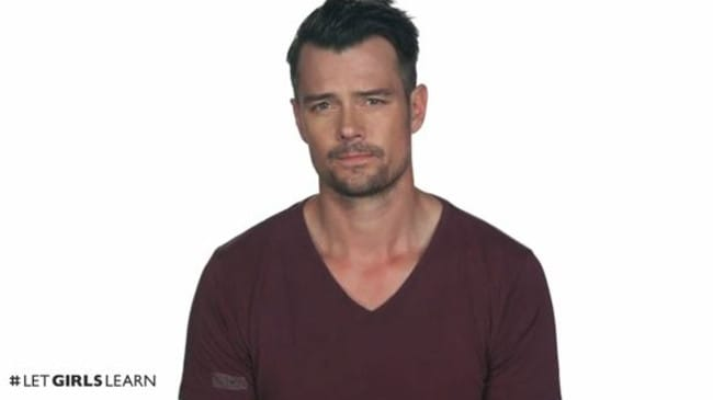 Speaking out ... Josh Duhamel.