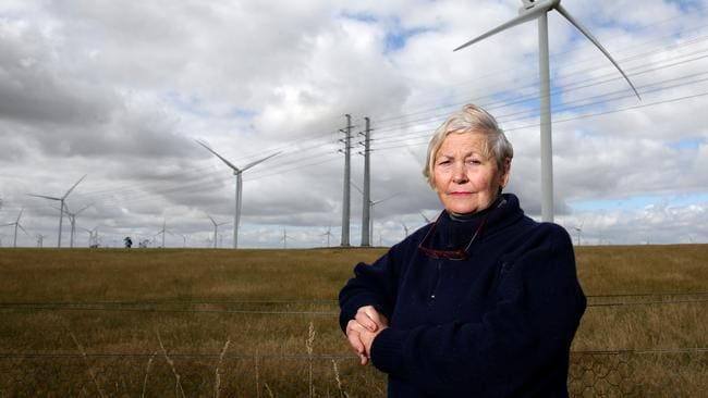Jan Hetherington used to live in the shadow of the Macarthur wind farm in western Victoria.