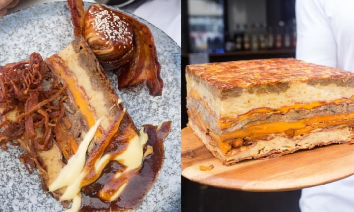 Bacon Cake is a thing and we can't handle it