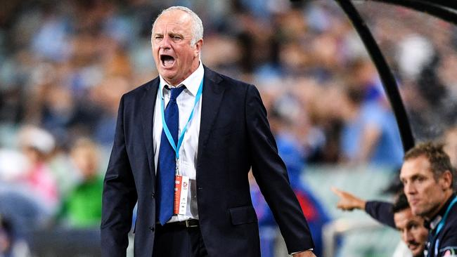 Graham Arnold revealed he is a wanted man.