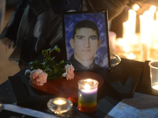 23.2.2014. A candle light vigil / memorial was held at Light Square in memory of Reza Berati.