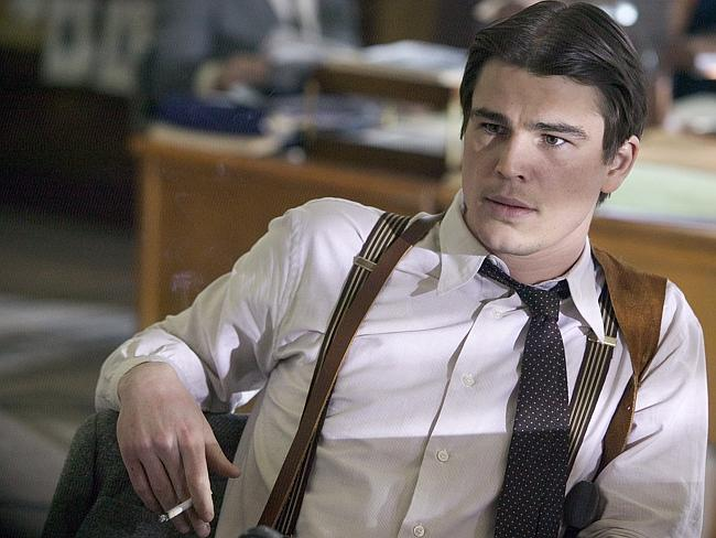 Dropped out ... Actor Josh Hartnett, in 2006 film 'Black Dahlia', says he turned his back