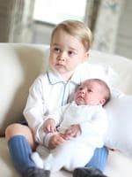 Britain's royals have been photographed by some of the world's leading photographers. But Prince William and Kate are continuing a more informal tradition begun two years ago with the first official portrait of Prince George, taken by his grandfather Michael Middleton. Picture: AP
