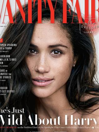 Was it worth it? Meghan Markle on the cover of Vanity Fair.