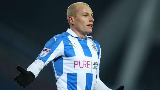 Playing at Wembley will be a first for Aaron Mooy in Championship playoff