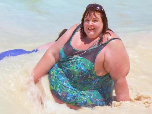 "Alice Young said she finally felt ""accepted"" after staying at The Resort. Photo: ITV  <br />"