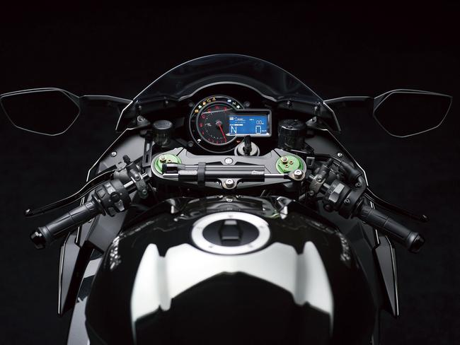 Serious grunt ... the bike's supercharged engine uses aerospace technology. Picture: Supplied