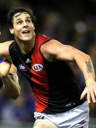 Essendon's Jake Carlisle is in hot form. Picture: Wayne Ludbey