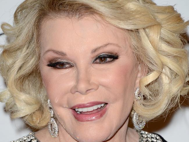 Comedian Joan Rivers has died after being removed from life support. Picture: Jason Merritt/Getty Images