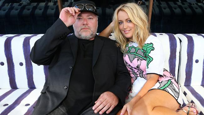 Tense relations ... Kyle Sandilands and Jackie O engaged in an on-air spat last week over his notorious sickies from work. Picture: James Croucher