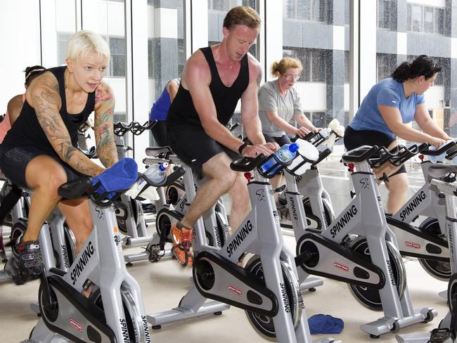 Spin cycle classes are all the rage at the moment.