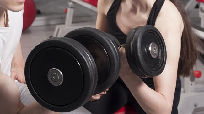 Doing these are great, but there's more to keeping fit than weights. Picture: ThinkStock