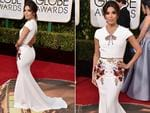 Eva Longoria arrives at the 73rd annual Golden Globe Awards on Sunday, Jan. 10, 2016, at the Beverly Hilton Hotel in Beverly Hills, Calif. Picture: Jordan Strauss/Invision/AP