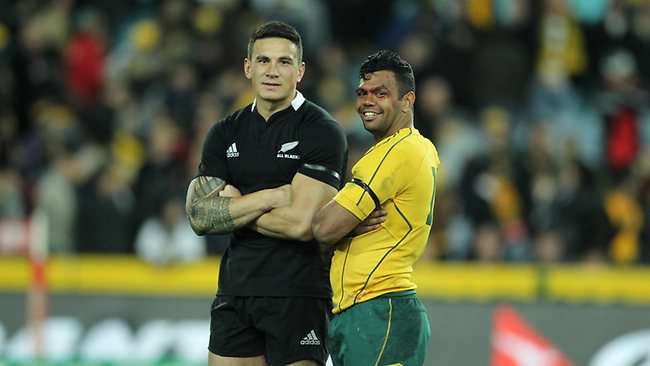 Kurtley Beale and Sonny Bill Williams