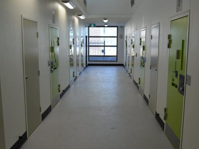Inside the Malmsbury Youth Justice Centre. Picture: CFA VIC