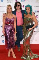 Sheppard arrive on the red carpet for the 30th Annual ARIA Awards 2016 at The Star on November 23, 2016 in Sydney, Australia. Picture: AAP
