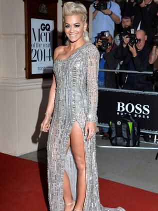 Rita Ora attends the GQ Men of the Year awards.