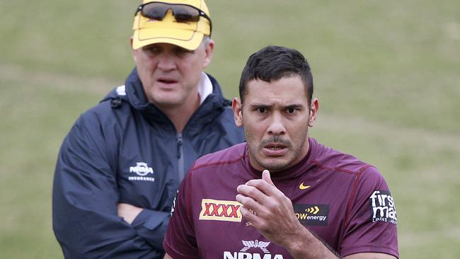 Broncos coach Anthony Griffin has hailed Hodges's influence on the team.