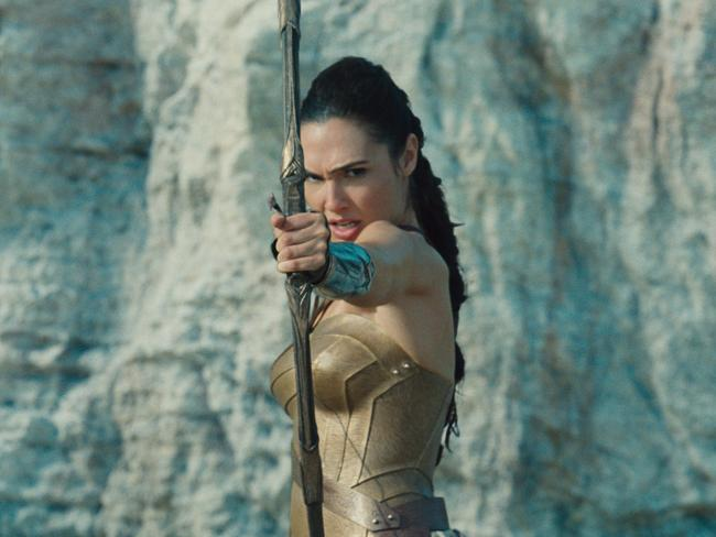 Gal Gadot as Diana Prince in Wonder Woman.