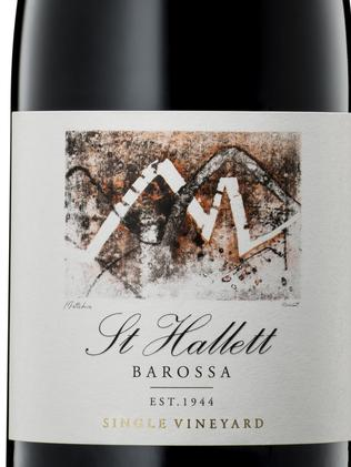 St hallett single vineyard release materne barossa valley shiraz