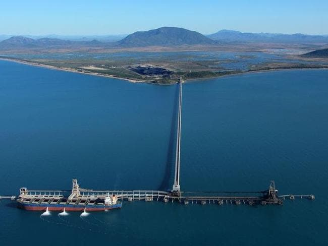 The Abbot Point coal terminal. Picture: Australian Marine Conservation Society.