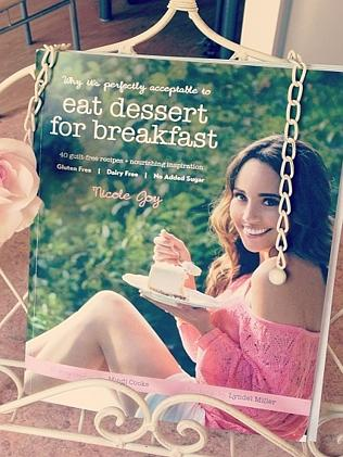 Eat Dessert for Breakfast — raw cooking book by Nicole Joy