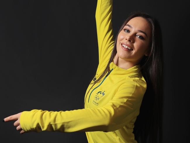 Figure skater Kailani Craine is competing at her maiden Winter Olympics.