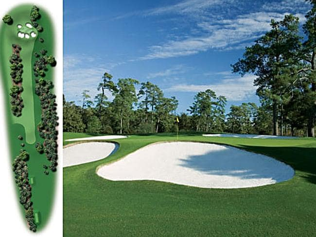 Augusta National Hole Seven — Pampas. Picture: Golf Digest